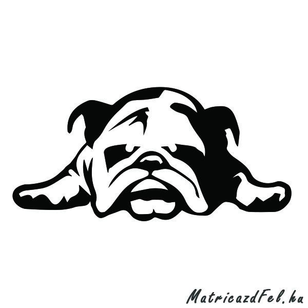 bulldog-matrica21