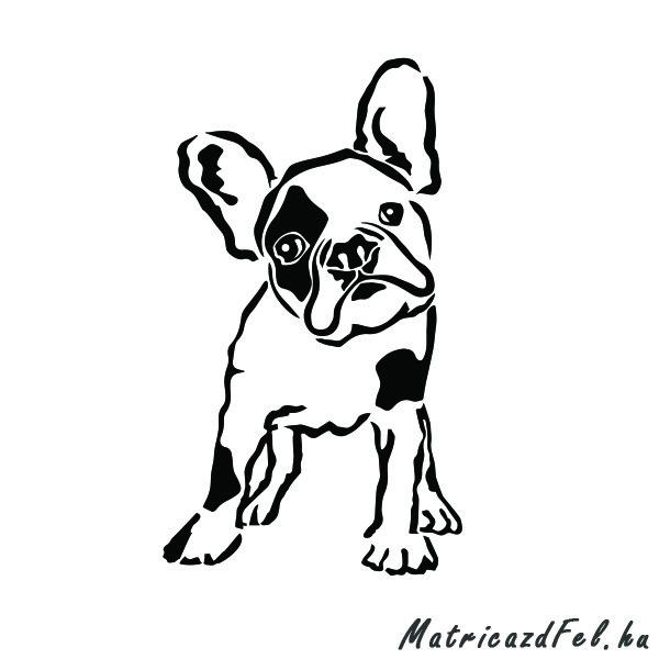 francia-bulldog-matrica25
