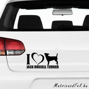 jack russel terrier matrica