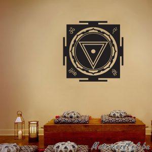 Kali yantra matrica