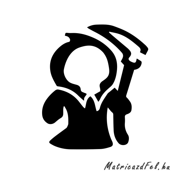 102bb82193f0 Kaszás laptop matrica - MatricazdFel matrica webáruház