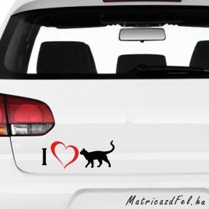 Love macska matrica