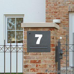 Házszám matrica 4