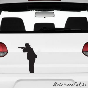 vadász matrica 2