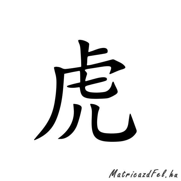 kinai-horoszkop-matrica-tigris