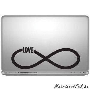 Végtelen szerelem laptop matrica