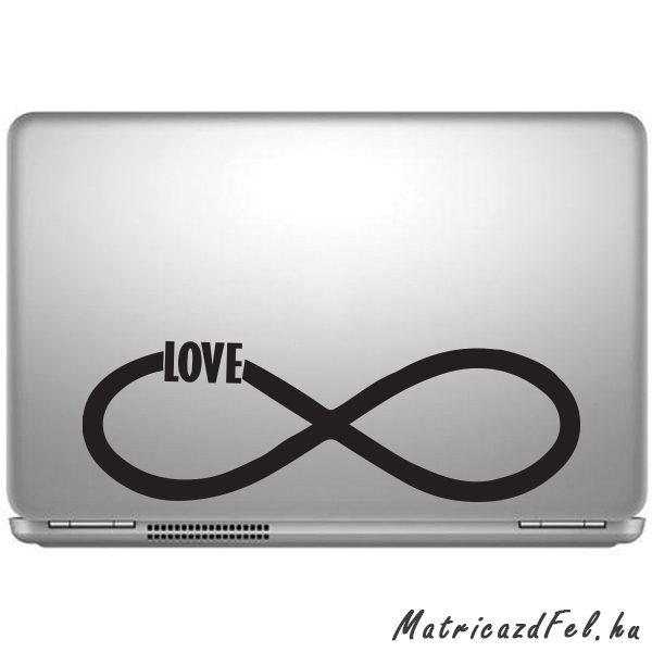 34ed5866204d Végtelen szerelem laptop matrica - MatricazdFel matrica webáruház