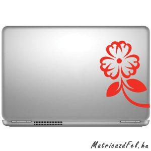 Virág laptop matrica
