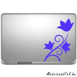 virágok laptop matrica