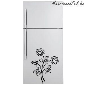Rózsák hűtő matrica