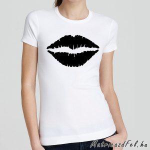 csók vasalható matrica